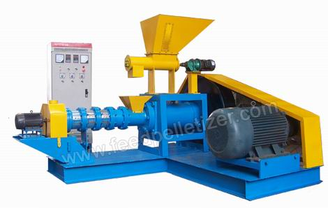 dry type fish feed mill