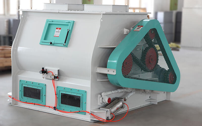 Efficient Feed Mixing Machine for Animal Feed Line